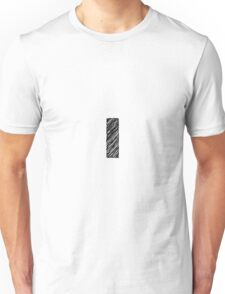 Sketchy Letter Series - Letter L (lowercase) Unisex T-Shirt
