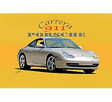 2001 Porsche 911 Carrera  Photographic Print