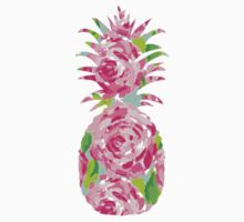 Lilly Pulitzer Inspired Pineapple First Impression by mlr28blu
