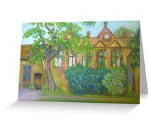 East Riddlesden Hall from the Lake   Greeting Card