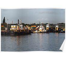 Poole Dockyard Poster