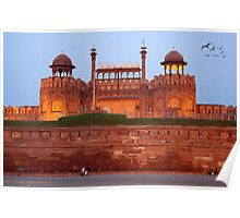 Red Fort-The World Heritage Poster