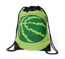Watermelon Basketball Drawstring Bag