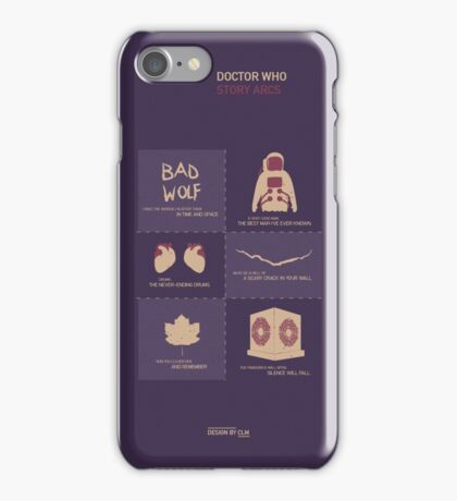 Doctor Who |Story Arcs iPhone Case/Skin