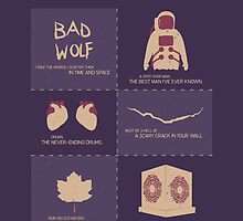 Doctor Who |Story Arcs by CLMdesign
