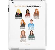 Doctor Who | Companions (alternate version) iPad Case/Skin