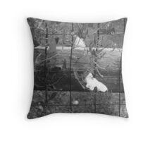 On the fence about it :: Throw Pillow