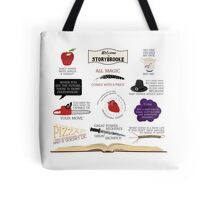 Once Upon a Time Quotes Tote Bag
