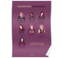 Doctor Who | Companions Poster