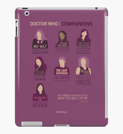 Doctor Who  Companions iPad Case/Skin