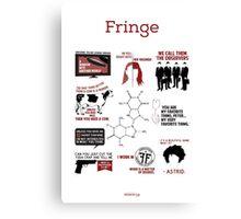 Fringe Quotes Canvas Print