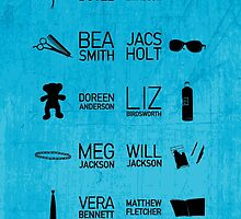 Wentworth Characters by CLMdesign