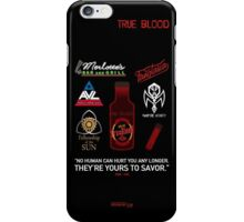 True Blood Logos iPhone Case/Skin