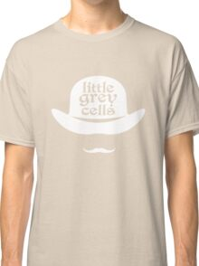 Little grey cells geek funny nerd Classic T-Shirt