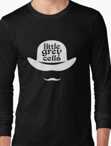 Little grey cells geek funny nerd Long Sleeve T-Shirt