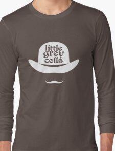 Little grey cells geek funny nerd Long Sleeve T-Shirt