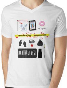 Dexter Morgan VS the Dark Passenger Mens V-Neck T-Shirt