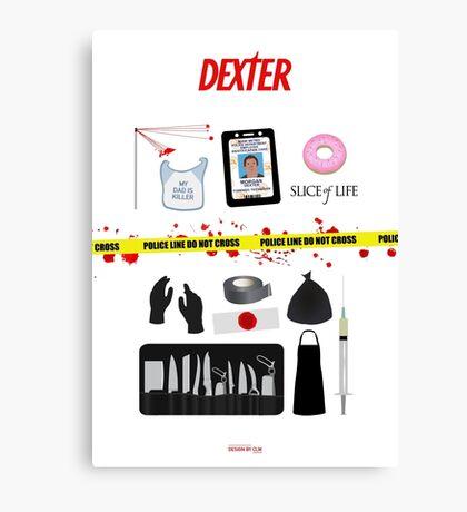 Dexter Morgan VS the Dark Passenger Canvas Print