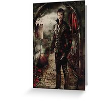 Camelot Set - Captain Hook Greeting Card