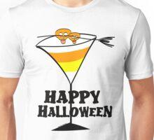 Halloween Candy Corn Martini Unisex T-Shirt