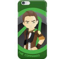 Axton as the Commando  iPhone Case/Skin