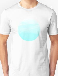 Blue Watercolor Gradient T-Shirt