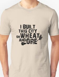 Wheat and ore geek funny nerd T-Shirt