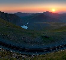 Snowdon Mountain Railway by johnfinney