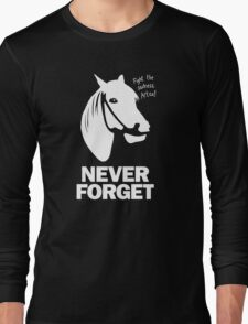 NEVER FORGET - Artax and the Swamps of Sadness Long Sleeve T-Shirt