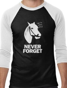 NEVER FORGET - Artax and the Swamps of Sadness Men's Baseball ¾ T-Shirt