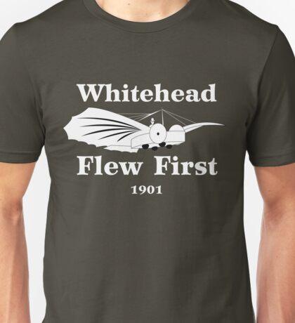 Whitehead Flew First Unisex T-Shirt