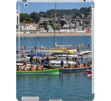 Gig racing at Lyme Dorset UK 2015-08-08 iPad Case/Skin