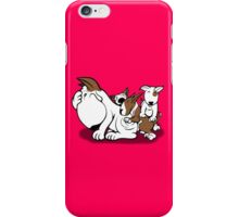 Bull Terrier Puppies with Mum iPhone Case/Skin