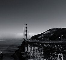 San Francisco Bay, With Golden Gate by Rafiul Alam