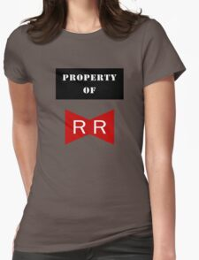 Property of Red Ribbon Army 2 Womens Fitted T-Shirt