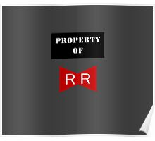 Property of Red Ribbon Army 2 Poster