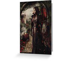 Camelot - Zelena Greeting Card