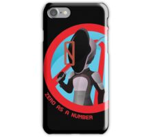 Zero As A Number iPhone Case/Skin