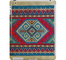 """Latvian Pillow - RED""© iPad Case/Skin"