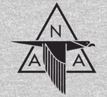North American Aviation Logo (Black) by warbirdwear