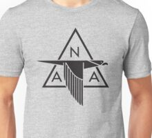 North American Aviation Logo (Black) Unisex T-Shirt