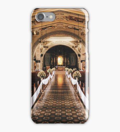 Church Interior by iPhoneographer Matteo Genota iPhone Case/Skin