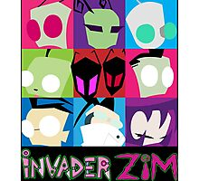 Invader Zim Collection Photographic Print