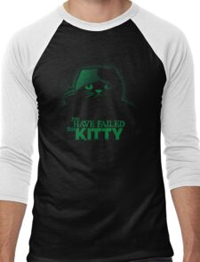 You have failed this Kitty Men's Baseball ¾ T-Shirt