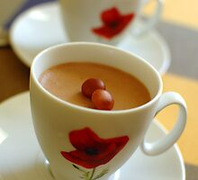 Milk chocolate & Earl Grey tea mousse  by parismidori