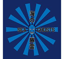 Sea Ghosts Squadron Logo Photographic Print