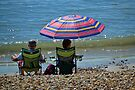 Keeping Cool at Lyme.dorset. UK by lynn carter