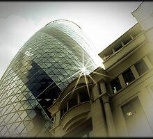 Amazing London - THE GHERKIN - (UK) by Daniela Cifarelli