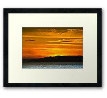 Jurassic Coast - Print Framed Print