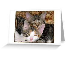 """Moire and Mickey """"O'Neill""""[ L to R] 10/10 (6 Months) Greeting Card"""